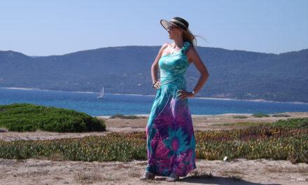 Une robe longue pour un look bohème